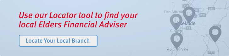 Elders Financial Adviser Locator banner
